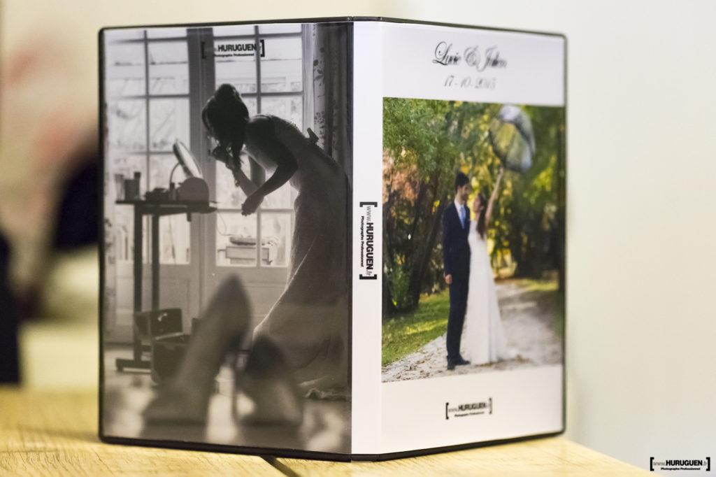photographe mariage bordeaux sebastien huruguen coffret DVD