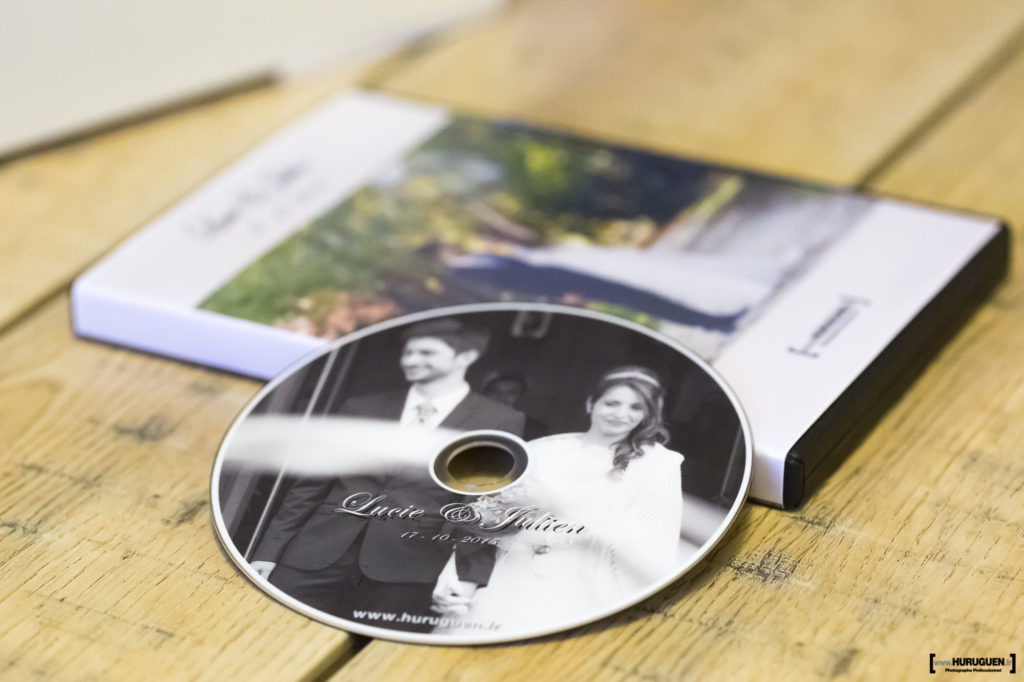 photographe mariage bordeaux sebastien huruguen coffret DVD 3