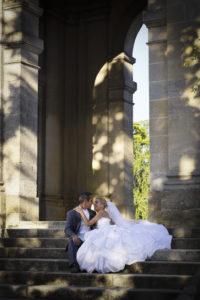 photo seance trash the dress mariage bordeaux