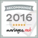 sebastien huruguen recommandé par Mariages.net en 2015 et 2016