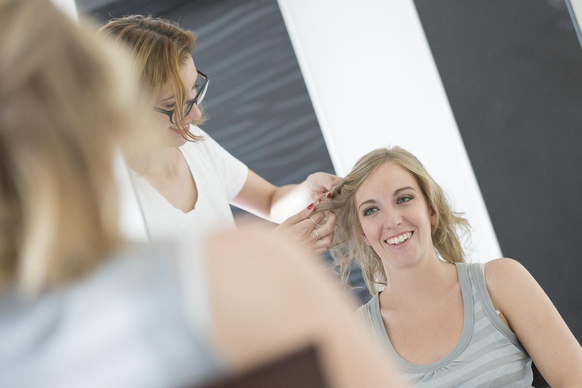 pauline b coiffeuse et maquilleuse professionnelle de mariage et marie bordeaux coiffe florie le jour - Maquilleuse Professionnelle Mariage