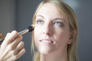 Portrait mariee Sebastien Huruguen Photographe Mariage Bordeaux maquillage coiffure preparatifs