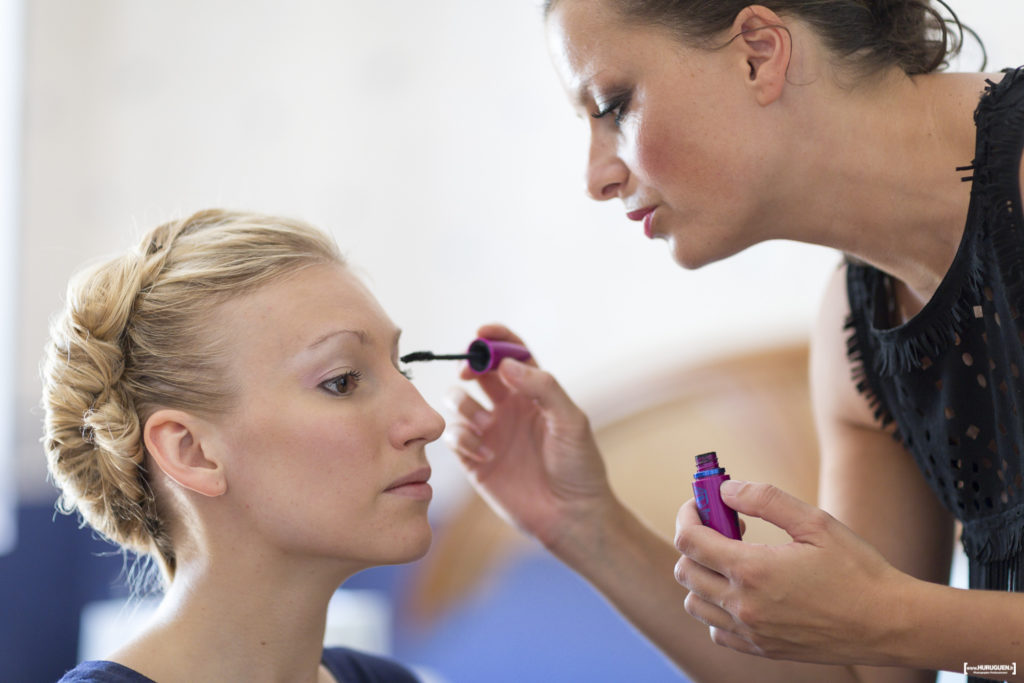 Maquillage de la mariée - Photographe mariage Bordeaux Sebastien Huruguen