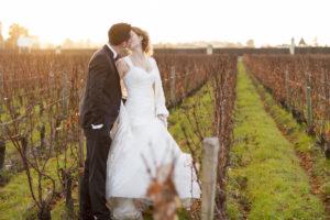 Vignes Pape Clement Chateau Pessac Leognan Maries Wedding Sebastien Huruguen Photographe Mariage Bordeaux