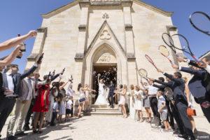 mariage à l'église de caychac blanquefort au nord de bordeaux