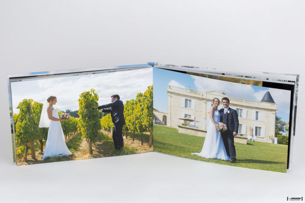 livre-album-photo-HD-mariage-couverture-rigide-sebastien-huruguen-photographe-bordeaux-format-A4-paysage-panoramique