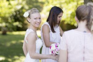préparatifs de la mariée sebastien huruguen photographe mariage à Bordeaux
