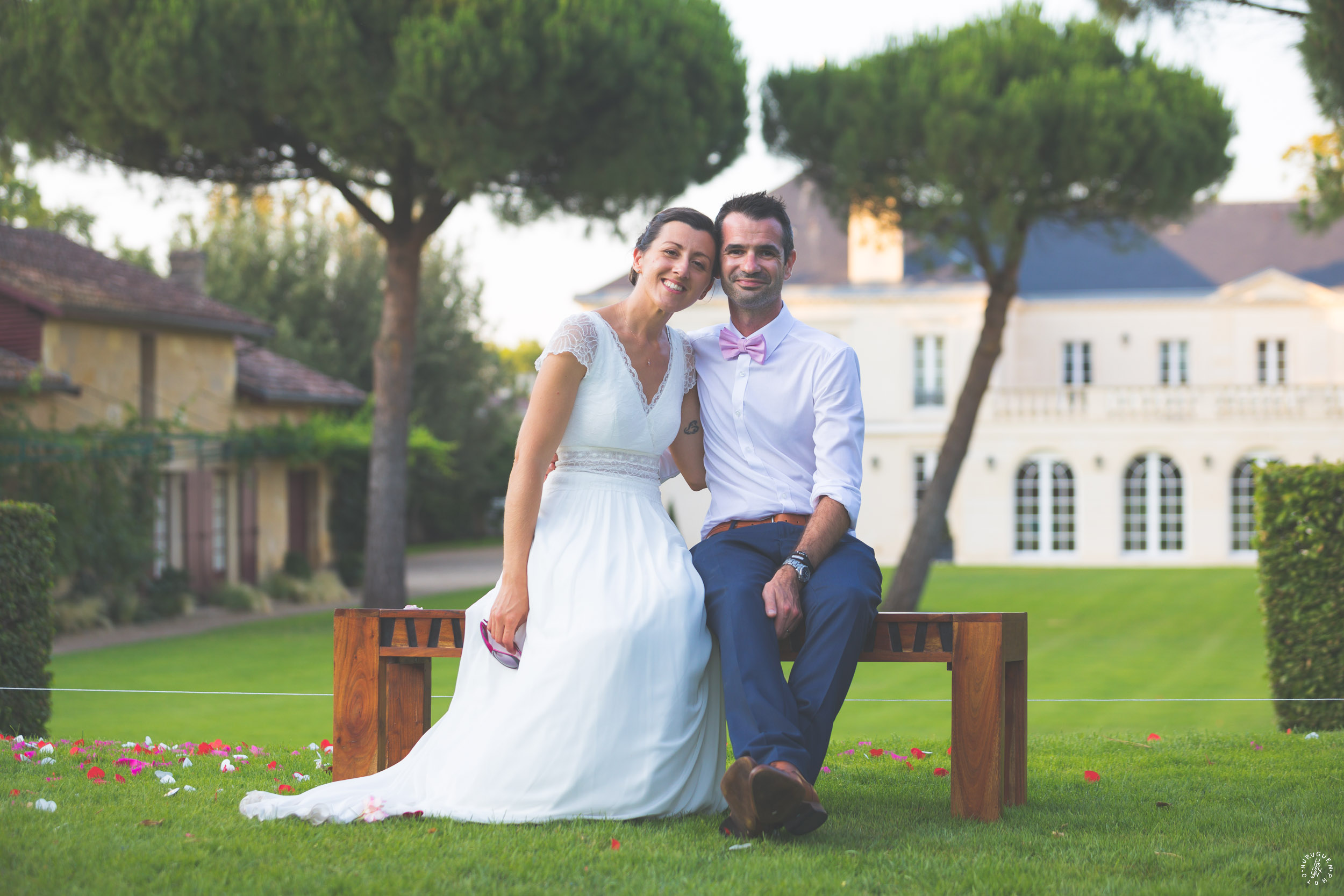 photographe mariage bordeaux chateau malartic leognan sebastien huruguen