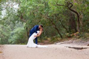 Trash The Dress Arcachon mariés seance day after dune du pilat