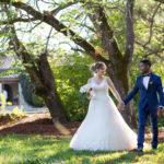 couple de jeunes mariés à pompignac sebastien huruguen photographe de mariage à Bordeaux